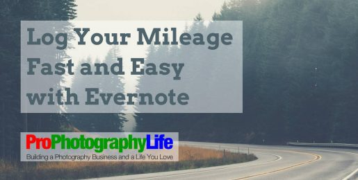 log your business mileage fast and easy with evernote pro